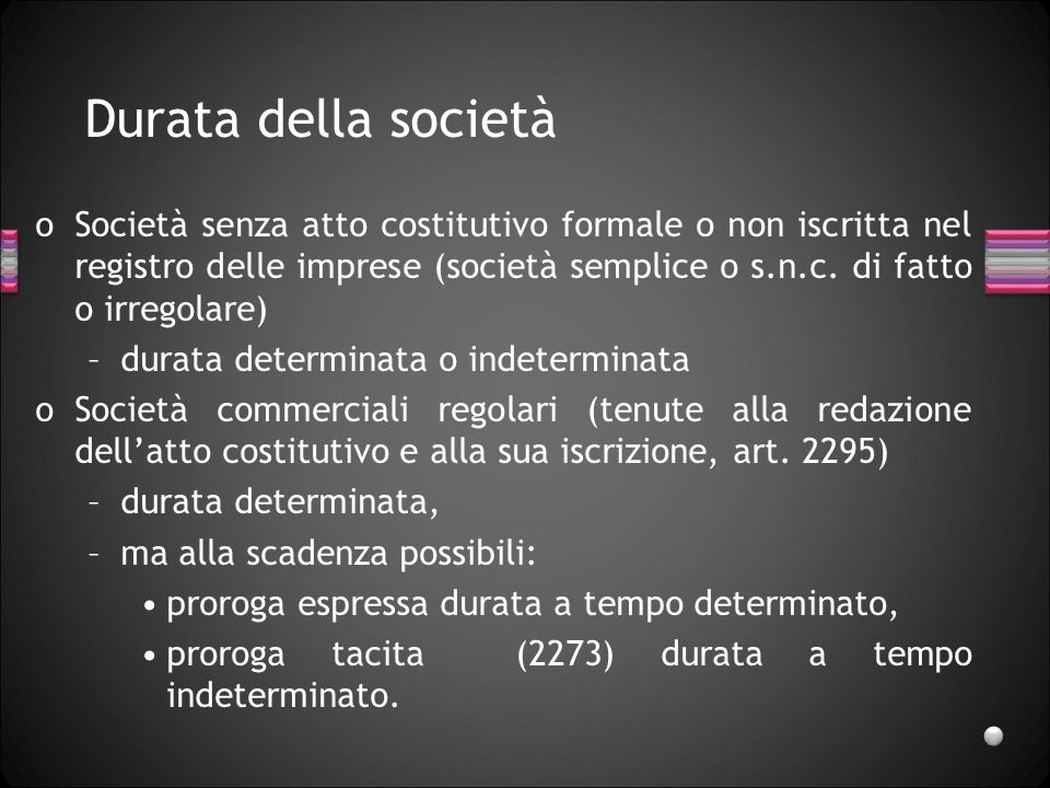Giusta cause di recesso Non può consistere in un semplice disaccordo in merito alla gestione della società.