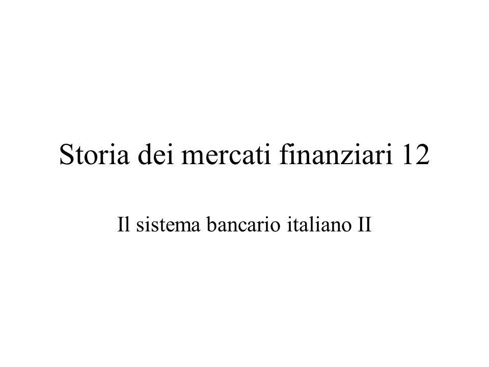 La rigenerazione del sistema bancario La Banca commerciale italiana 1893 (20 mil cap.