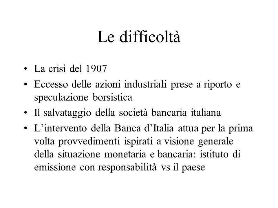 La crisi della siderurgia Il trust dellacciaio ILVA, Terni, Piombino (Max Bondi) Leccesso di investimenti Leccesso di capacità produttiva Il protezionismo Il CSVI