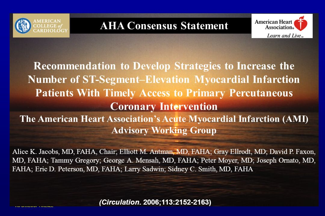 CARDIOLOGIA 1 AO CAREGGI - FIRENZE AHA Policy Recommendations AHA Consensus Statement Recommendation to Develop Strategies to Increase the Number of S