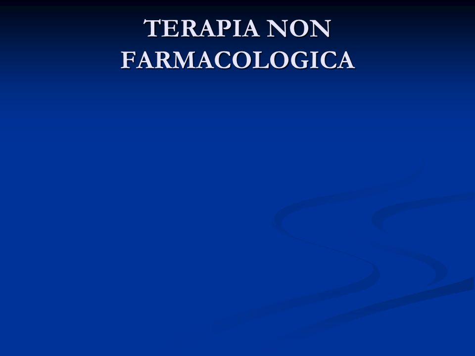 TERAPIA NON FARMACOLOGICA