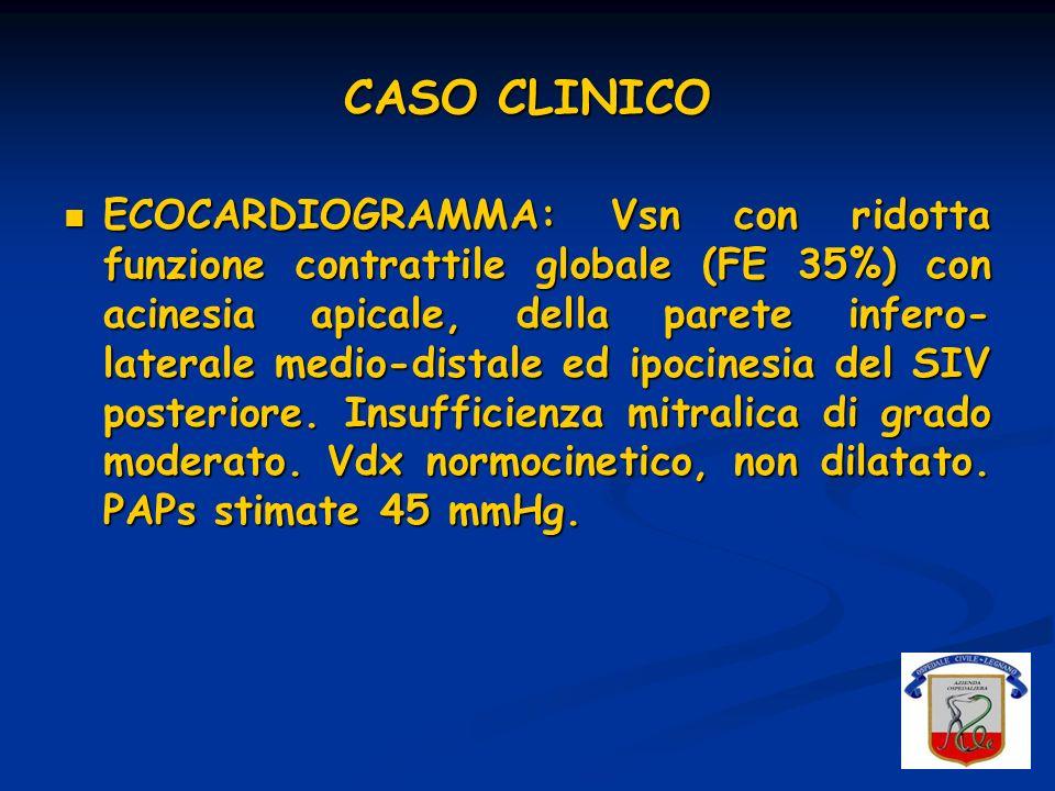 CASO CLINICO EMATOMA INGUINALE DESTRO IN SEDE DI PUNTURA ARTERIOSA FEMORALE: Hb 11,7 g/dl Hb 8,8 g/dl EMOTRASFUSIONE 2 GRC* * sospensione terapia eparinica ev