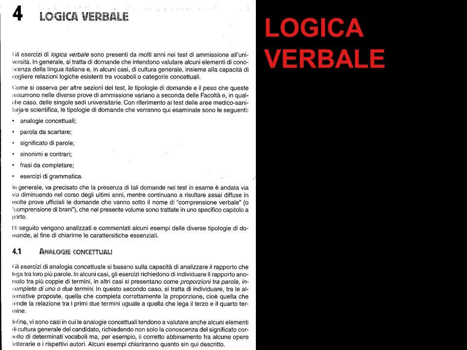LOGICA VERBALE