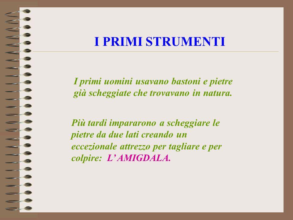 LE ETA DELLA PREISTORIA PREISTORIA STORIA 5500 A.C.