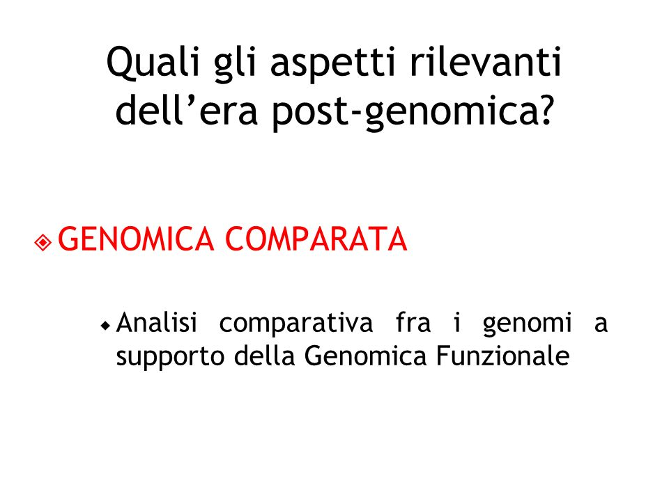 FARMACOGENOMICA Lo studio dellinfluenza delleredità genetica sulla risposta al farmaco da parte di ciascun individuo.