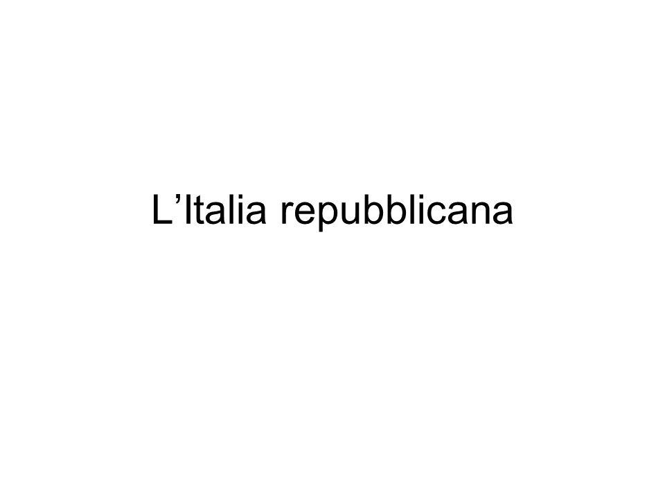 LItalia repubblicana