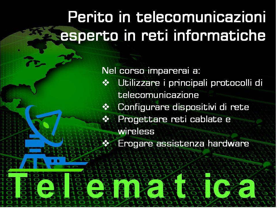 Città di Grugliasco Laboratori Matematica (2) Informatica -sistemi (3) Elettronica (4) Elettrotecnica (1) Telecomunicazioni (1) Tecnologia e disegno-biennio (2) TDP-triennio (2) Chimica (2) Fisica (1) Inglese (2) Rapporto PC/Studenti superiore alla media europea Internet in fibra ottica con navigazione protetta Laboratori unici per ergonomia e caratteristiche