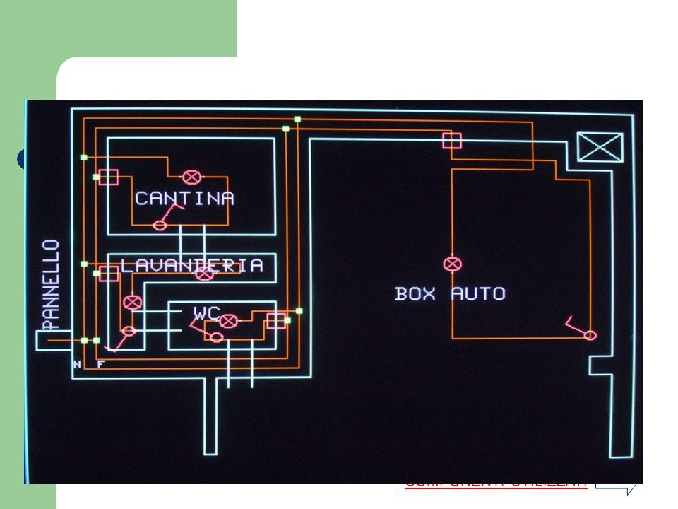 Disegni e prototipi degli Impianti elettrici della casa