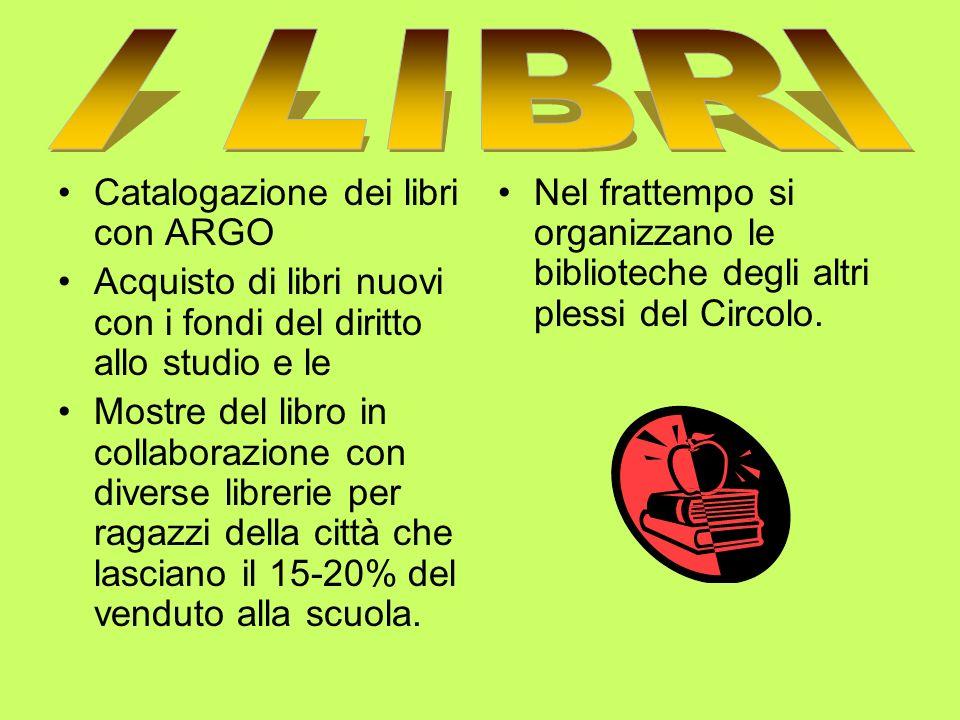 ANALISI DEI BISOGNI Organizzare e strutturare gli ambienti biblioteca nei quattro plessi, due scuole dinfanzia e due primarie.