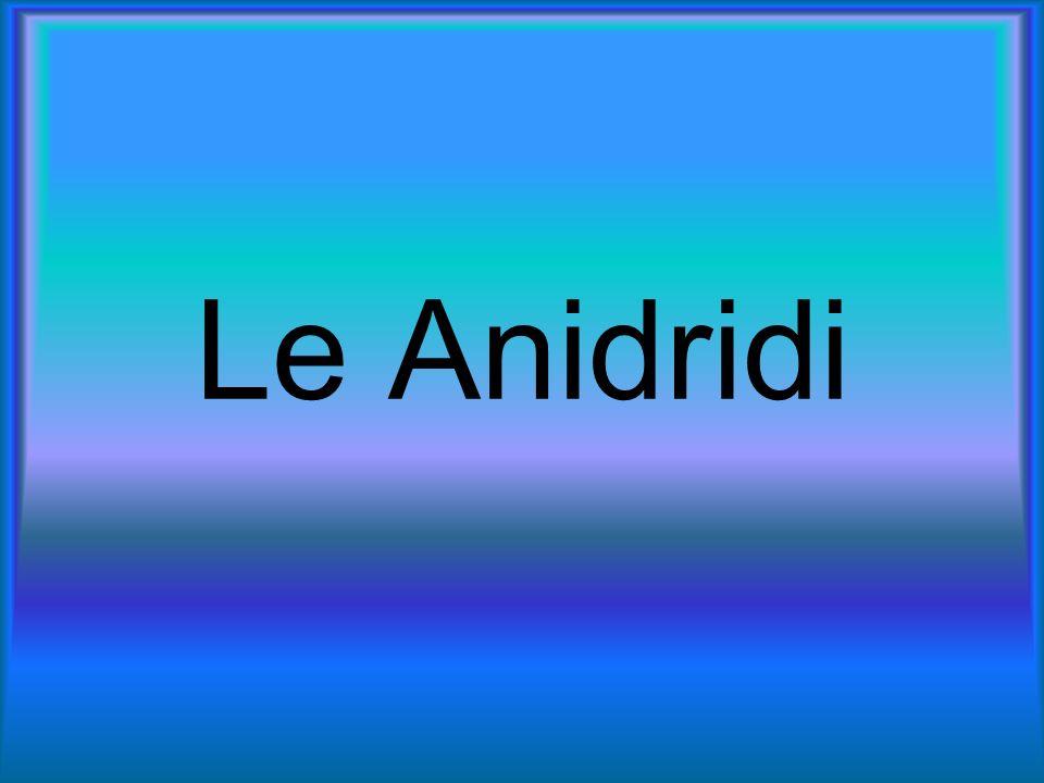 Le Anidridi