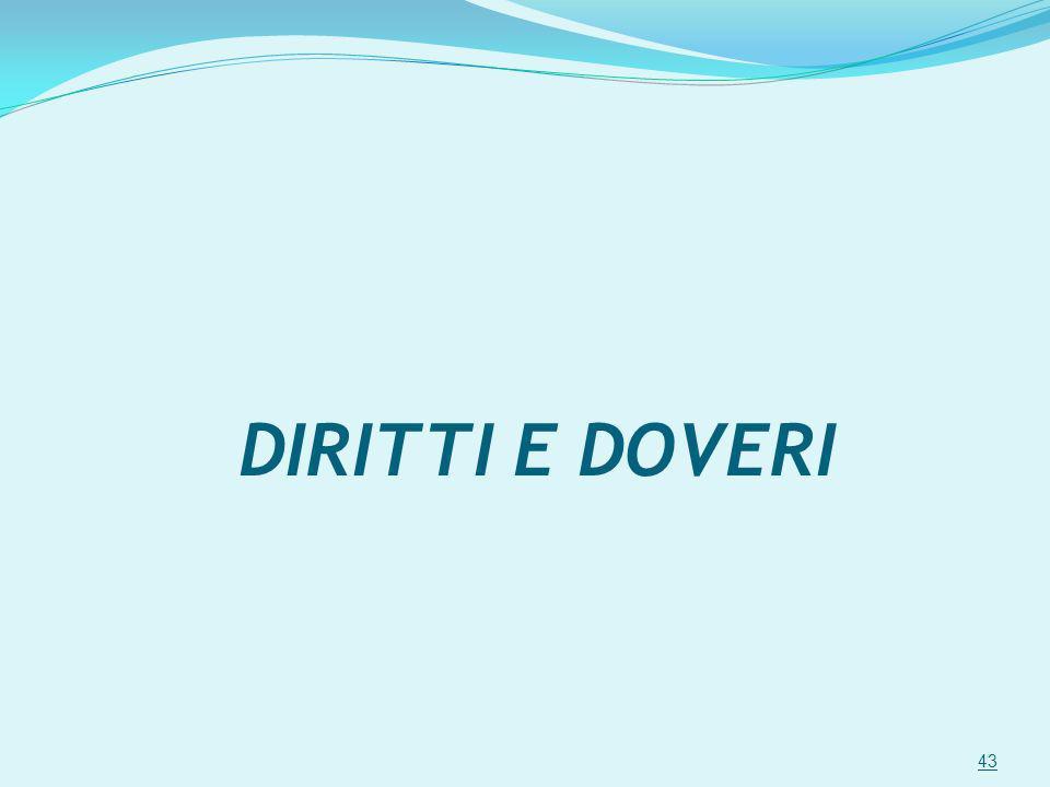 DIRITTI E DOVERI 43