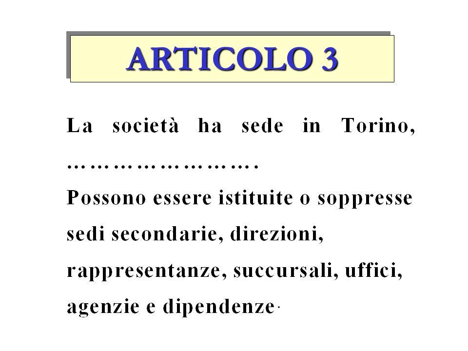 ARTICOLO 2 Il signor Mario ROSSI è socio accomandatario mentre il signor Michele VERDI è socio accomandante con responsabilità limitata alla quota con
