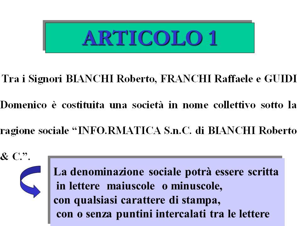 FATTISPECIE DI RECESSO ART.2285 C.C.
