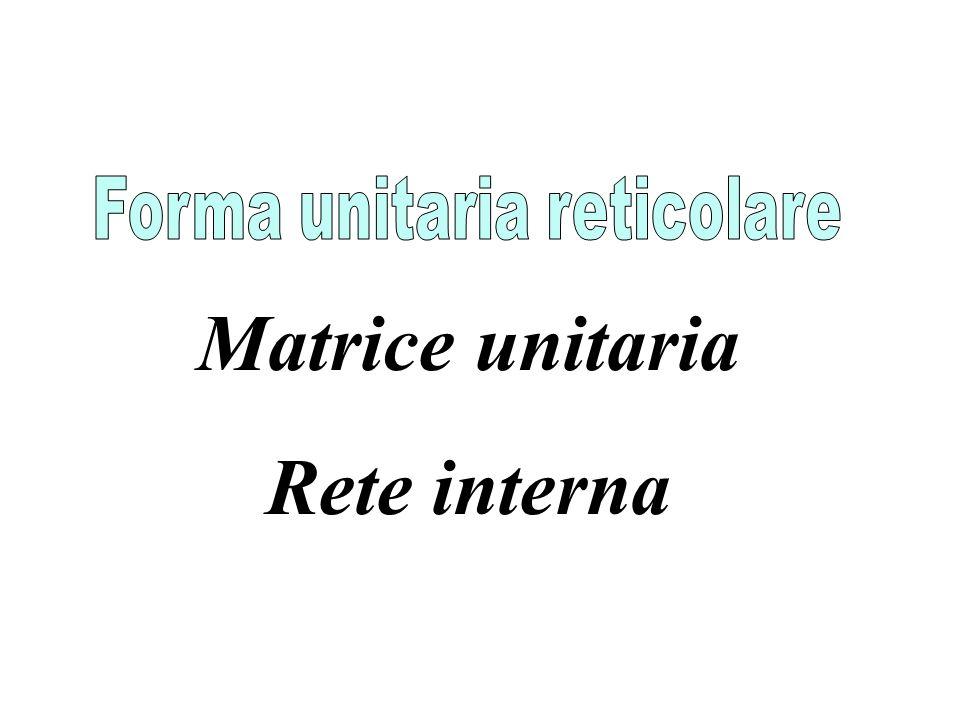Matrice unitaria Rete interna