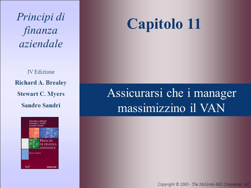 11- 2 Principi di finanza aziendale 4/ed - Richard A.