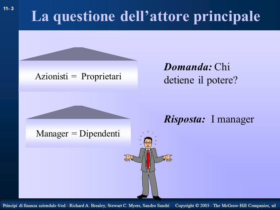 11- 4 Principi di finanza aziendale 4/ed - Richard A.