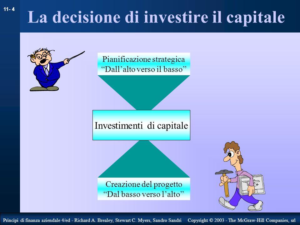 11- 5 Principi di finanza aziendale 4/ed - Richard A.