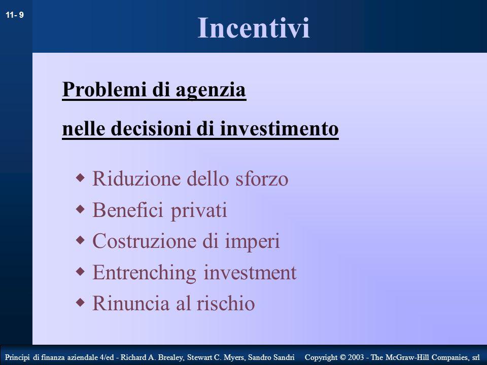 11- 10 Principi di finanza aziendale 4/ed - Richard A.