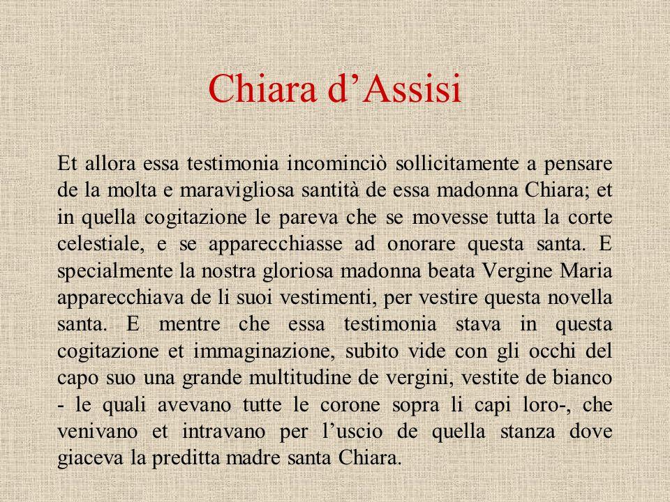 La nuova santità femminile Nel XII e XIII secolo, in coincidenza con la rinascita delle città, i Comuni italiani sentirono il bisogno di trovare nuovi