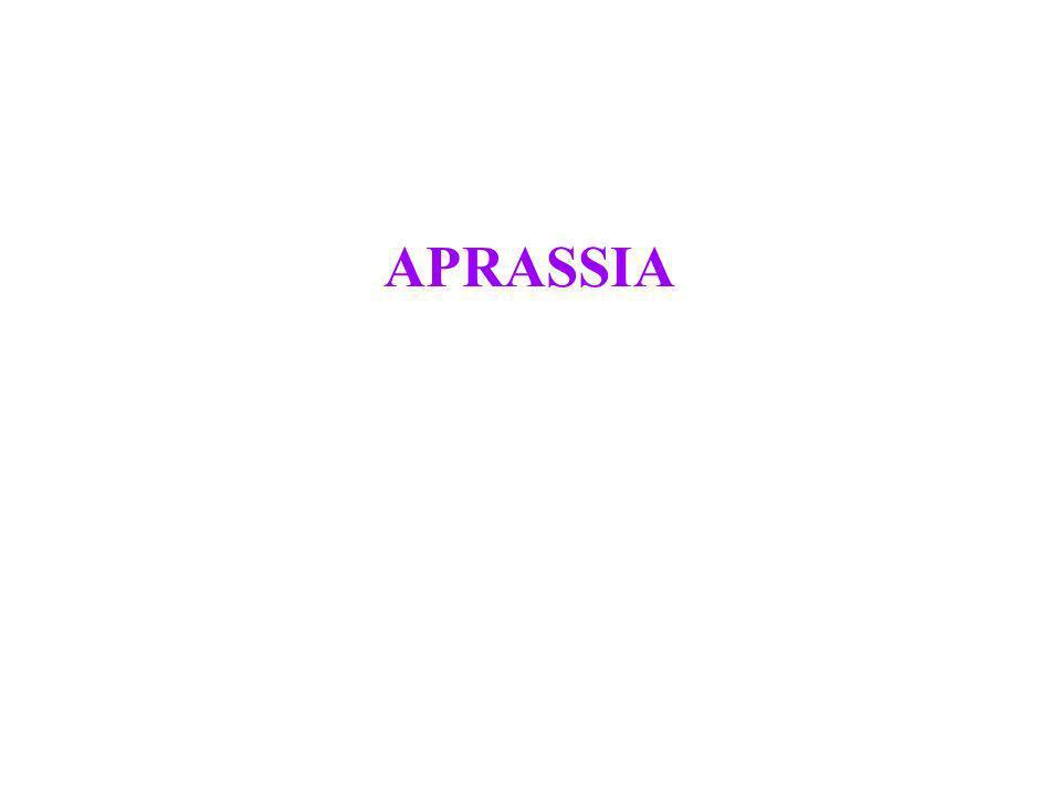 APRASSIA
