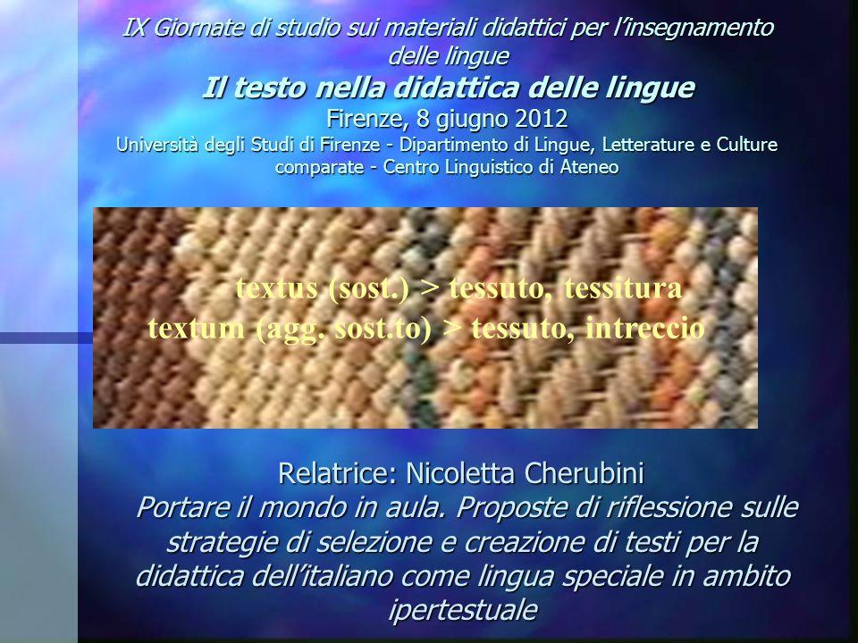 2 AMBITI DI RICERCA OFFERTA DI ITALIANO L2 IN AMBITO ECONOMICO PRODUTTIVO OFFERTA DI ITALIANO L2 IN AMBITO ECONOMICO PRODUTTIVO PROBLEMA: FRAMMENTARIETA DELLA DOMANDA PROBLEMA: FRAMMENTARIETA DELLA DOMANDA PROPOSTA DI SOLUZIONE: UNITA DIDATTICA CENTRATA SUL TESTO PROPOSTA DI SOLUZIONE: UNITA DIDATTICA CENTRATA SUL TESTO ESEMPI DI UNITA DIDATTICHE MODULARI CON RIMANDI IPERTESTUALI ESEMPI DI UNITA DIDATTICHE MODULARI CON RIMANDI IPERTESTUALI