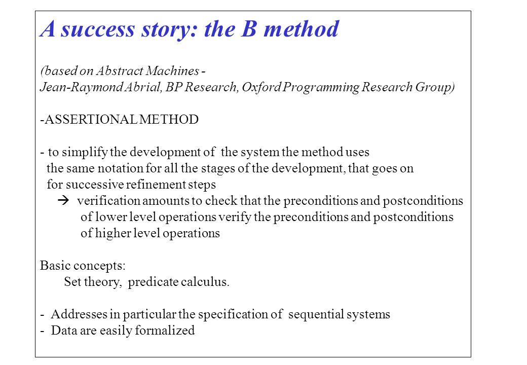Theorem proving Prova di una proprieta` su un modello mediante dimostrazione di teoremi Supportata da potenti strumenti di prova (es.