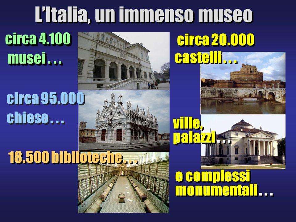 circa 4.100 musei...musei... circa 4.100 musei...