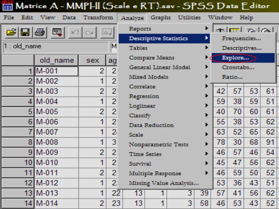 Pre Processing dei dati Modulo 1.2 Rif.