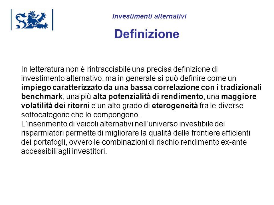 Luxembourg 03-2009 In letteratura non è rintracciabile una precisa definizione di investimento alternativo, ma in generale si può definire come un imp