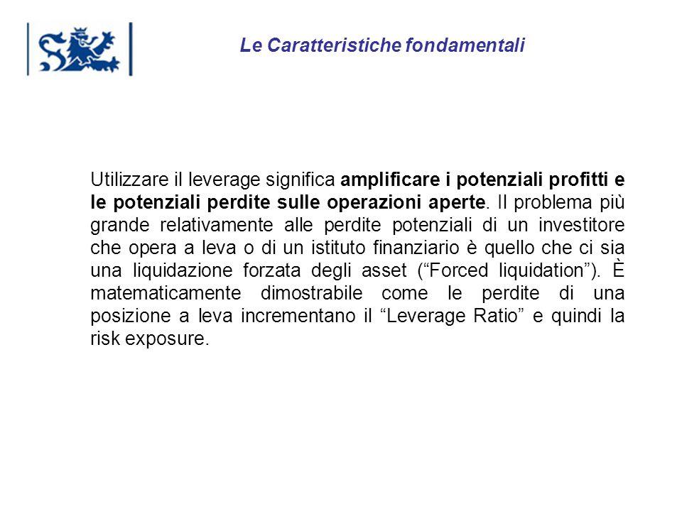 Luxembourg 03-2009 Utilizzare il leverage significa amplificare i potenziali profitti e le potenziali perdite sulle operazioni aperte. Il problema più