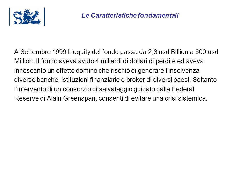 Luxembourg 03-2009 A Settembre 1999 Lequity del fondo passa da 2,3 usd Billion a 600 usd Million. Il fondo aveva avuto 4 miliardi di dollari di perdit