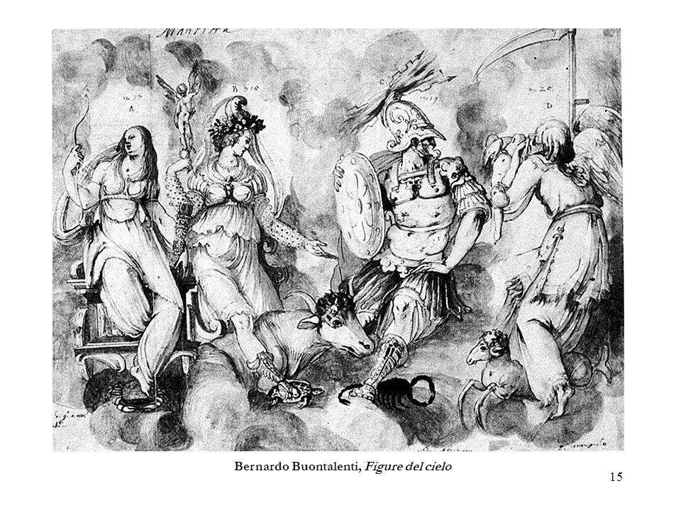 15 Bernardo Buontalenti, Figure del cielo