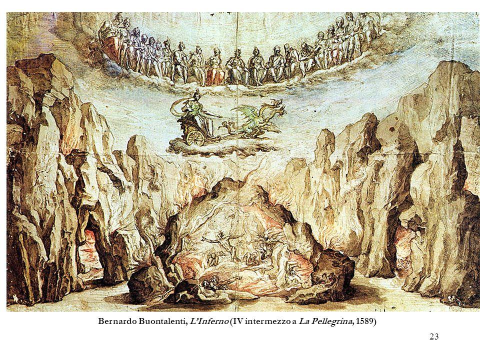 23 Bernardo Buontalenti, LInferno (IV intermezzo a La Pellegrina, 1589)