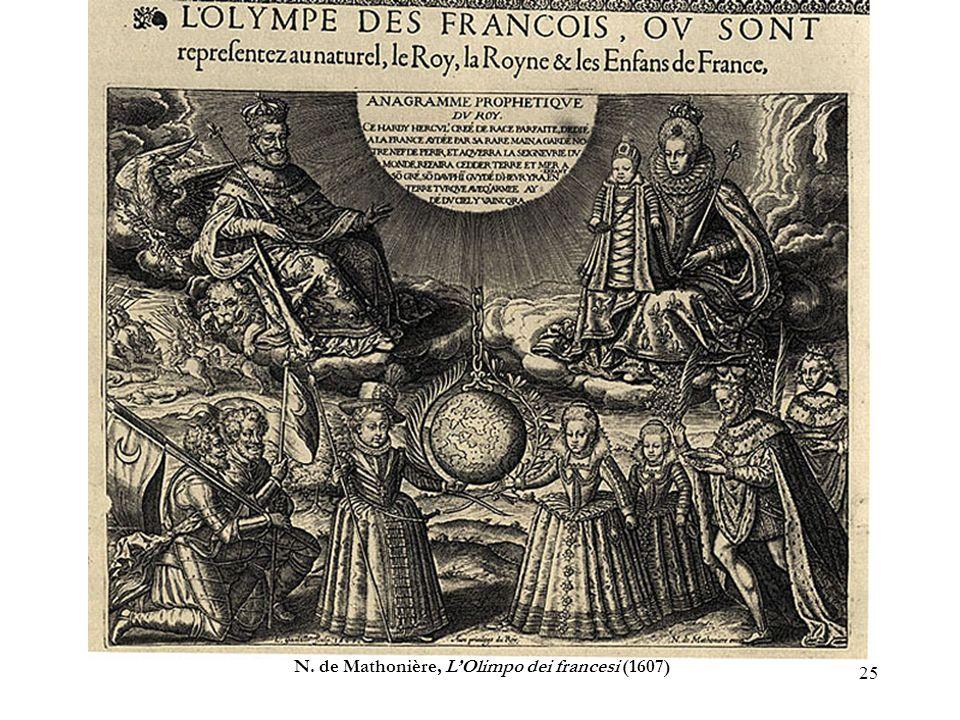 25 N. de Mathonière, LOlimpo dei francesi (1607)