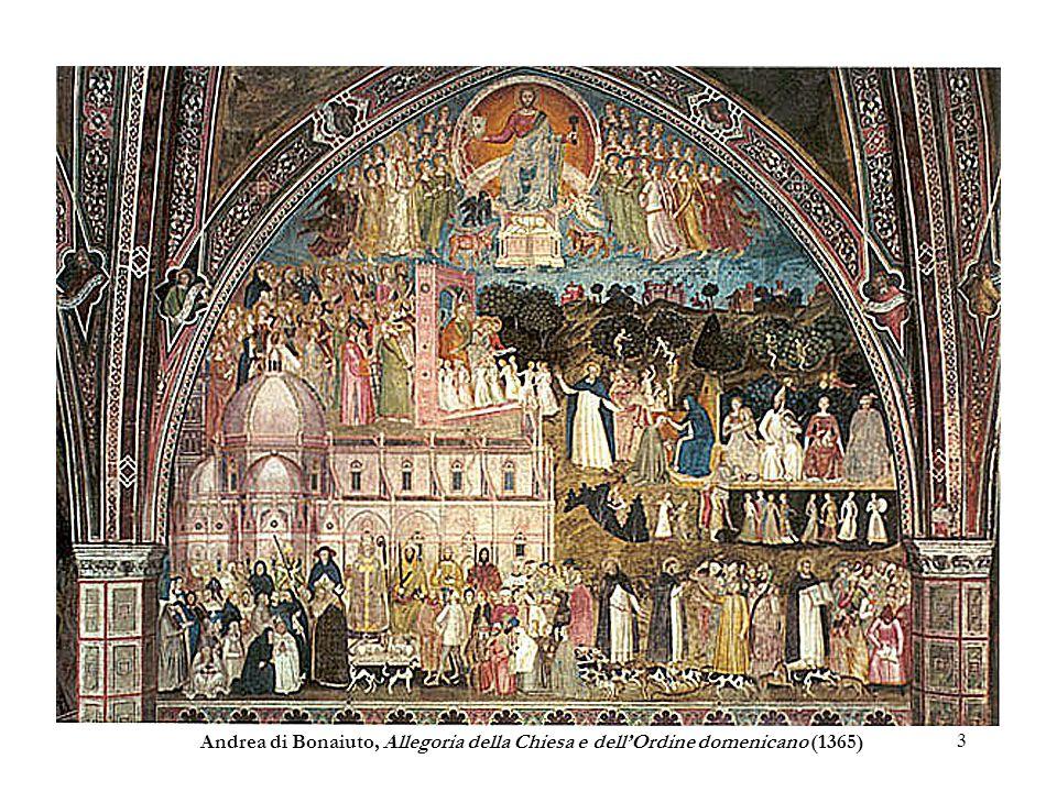 3 Andrea di Bonaiuto, Allegoria della Chiesa e dellOrdine domenicano (1365)