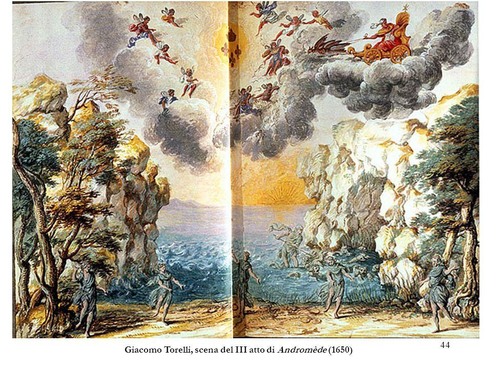 44 Giacomo Torelli, scena del III atto di Andromède (1650)