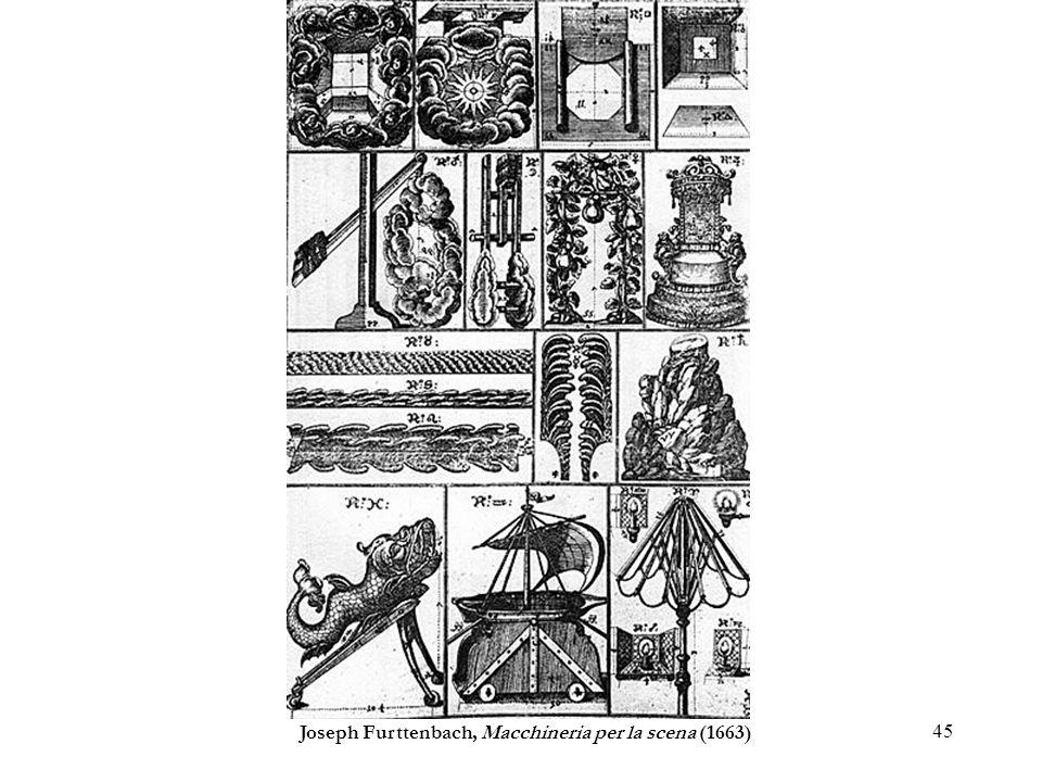 45 Joseph Furttenbach, Macchineria per la scena (1663)