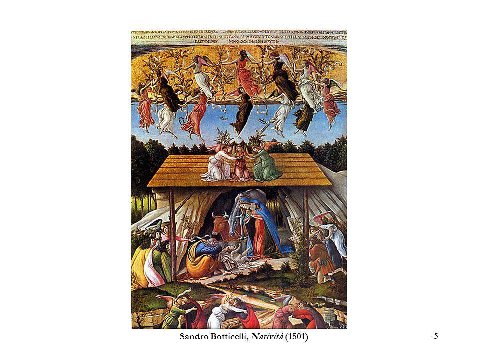 5 Sandro Botticelli, Natività (1501)