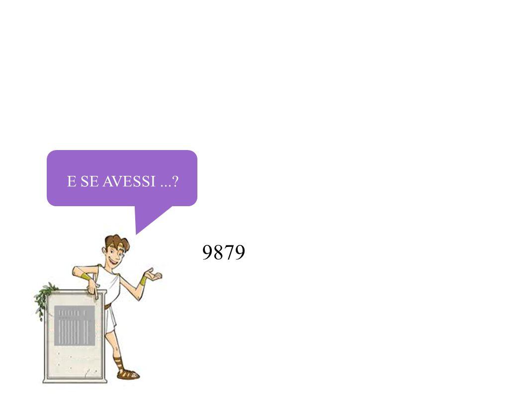 E SE AVESSI...? 9879