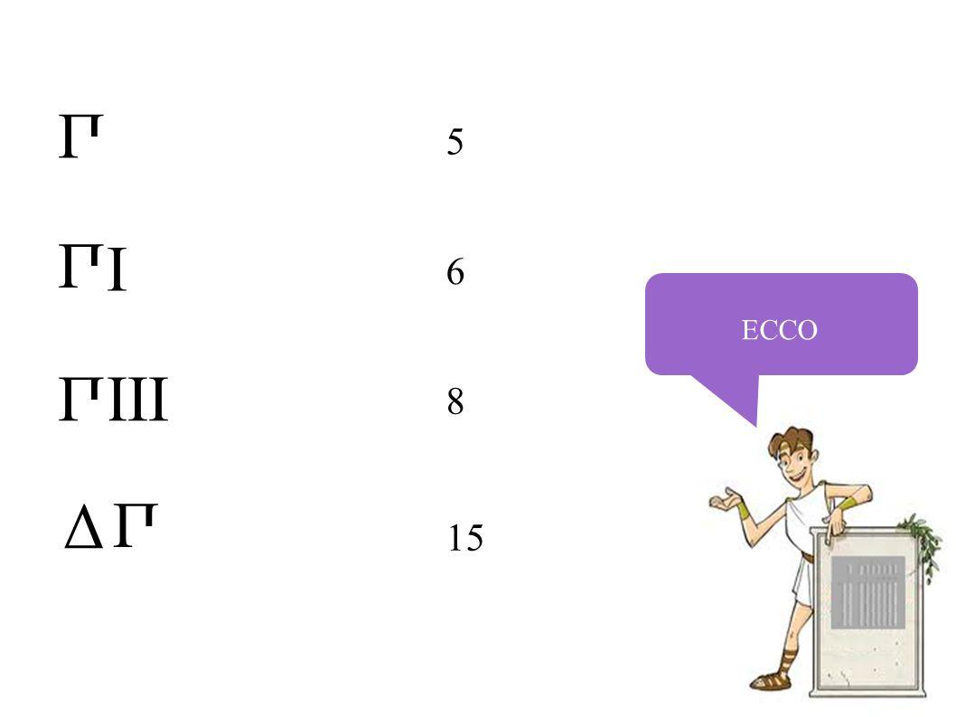 ECCO 5 6 8 15 П П Δ П III I П