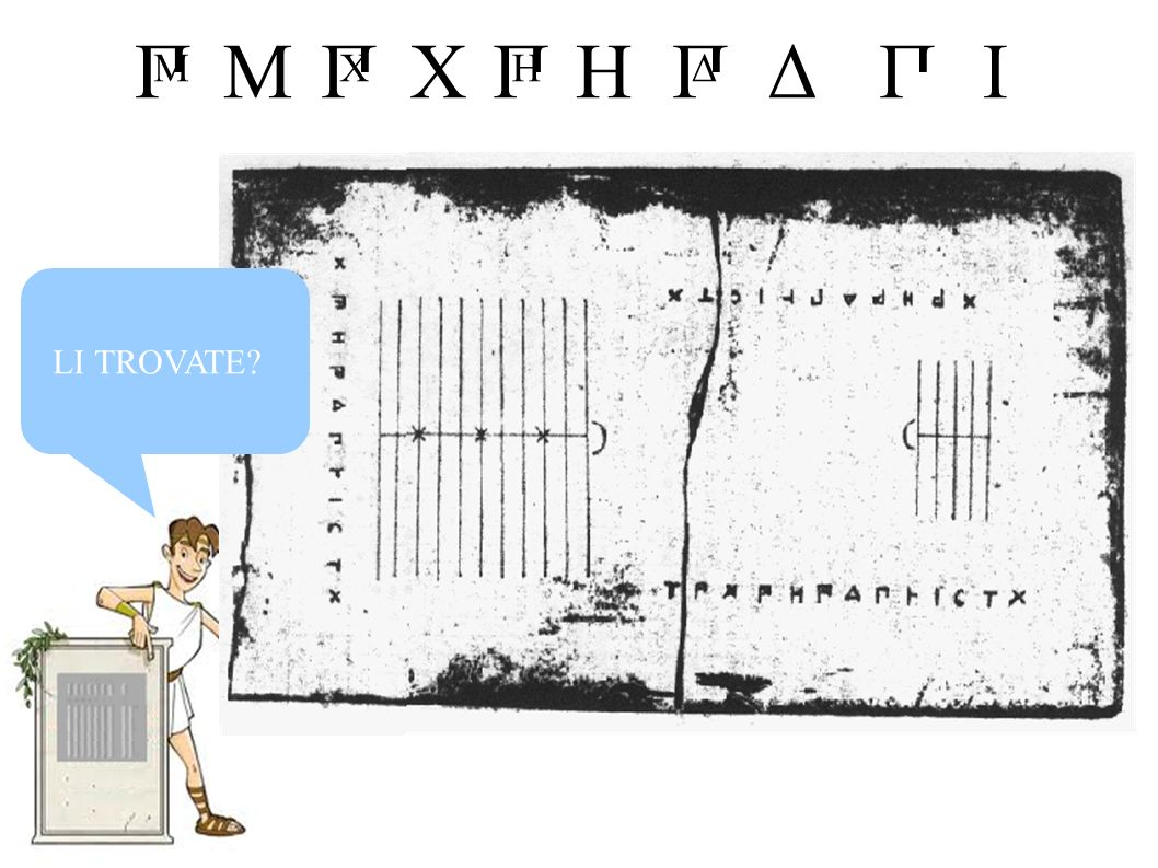 MIHXΔПП Δ П H П X П M LI TROVATE?