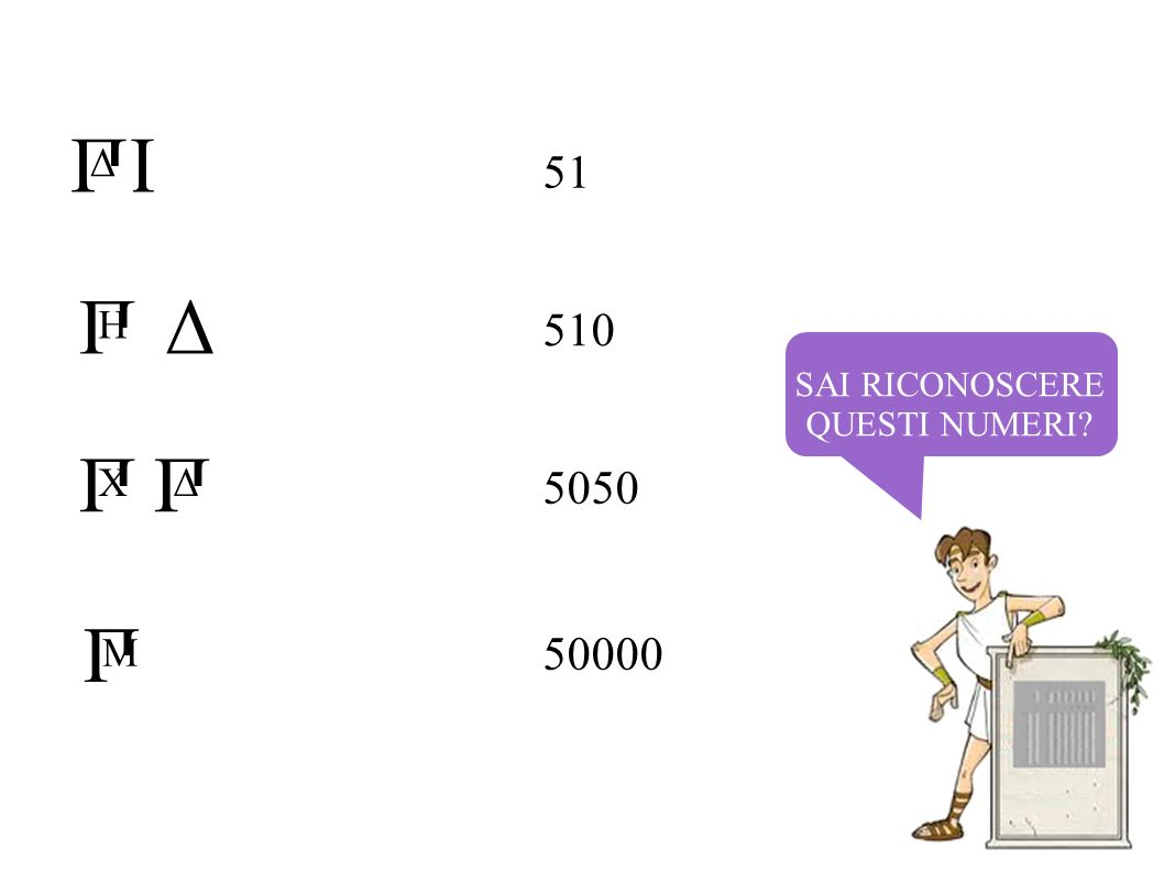 I Δ П Δ П H П X П Δ П M 51 510 5050 50000