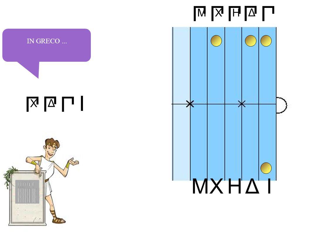 П Δ П H П X IHXΔM П M П IN GRECO... П Δ П X П I