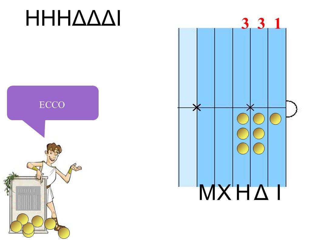 IHXΔM HHHΔΔΔI ECCO 3 3 1