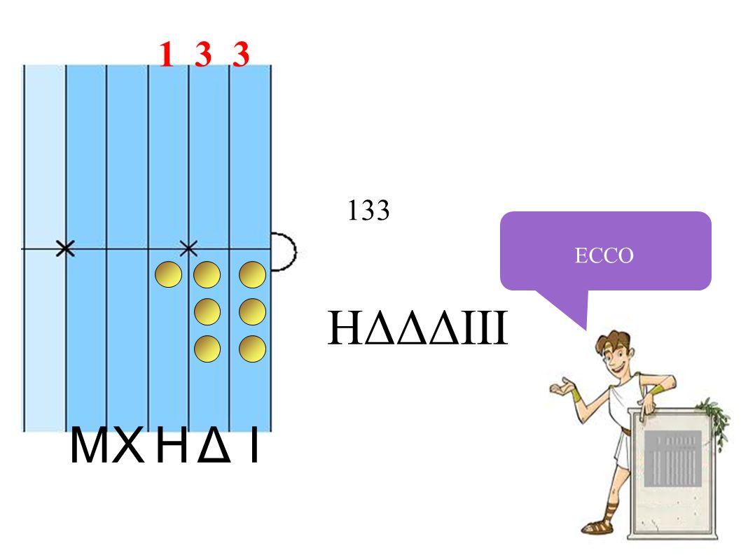 ECCO 133 IHXΔM HΔΔΔIII