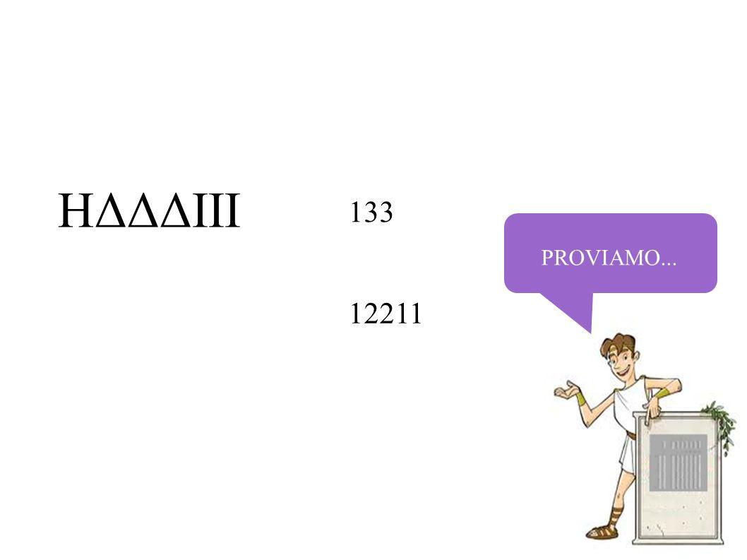 PROVIAMO... HΔΔΔIII 133 12211
