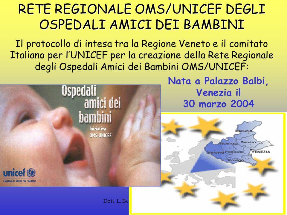 Dott. L. Bertinato - Regione Veneto