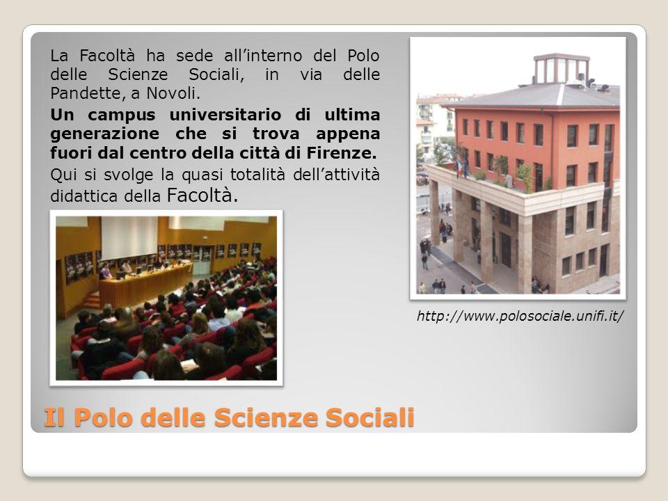Il Polo delle Scienze Sociali La Facoltà ha sede allinterno del Polo delle Scienze Sociali, in via delle Pandette, a Novoli.
