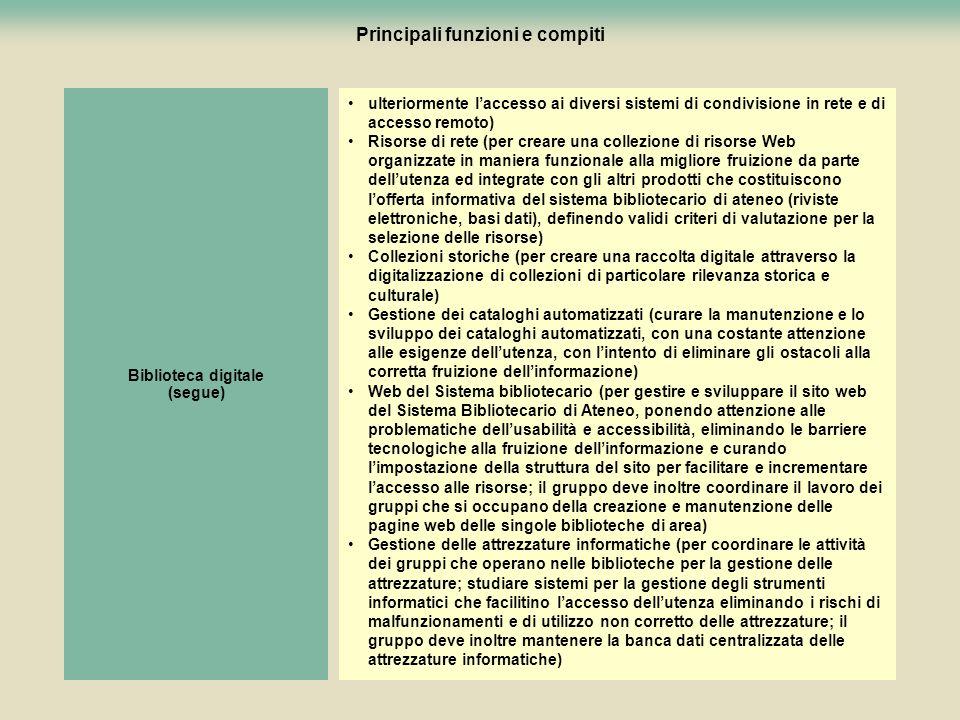 87 Principali funzioni e compiti ulteriormente laccesso ai diversi sistemi di condivisione in rete e di accesso remoto) Risorse di rete (per creare un
