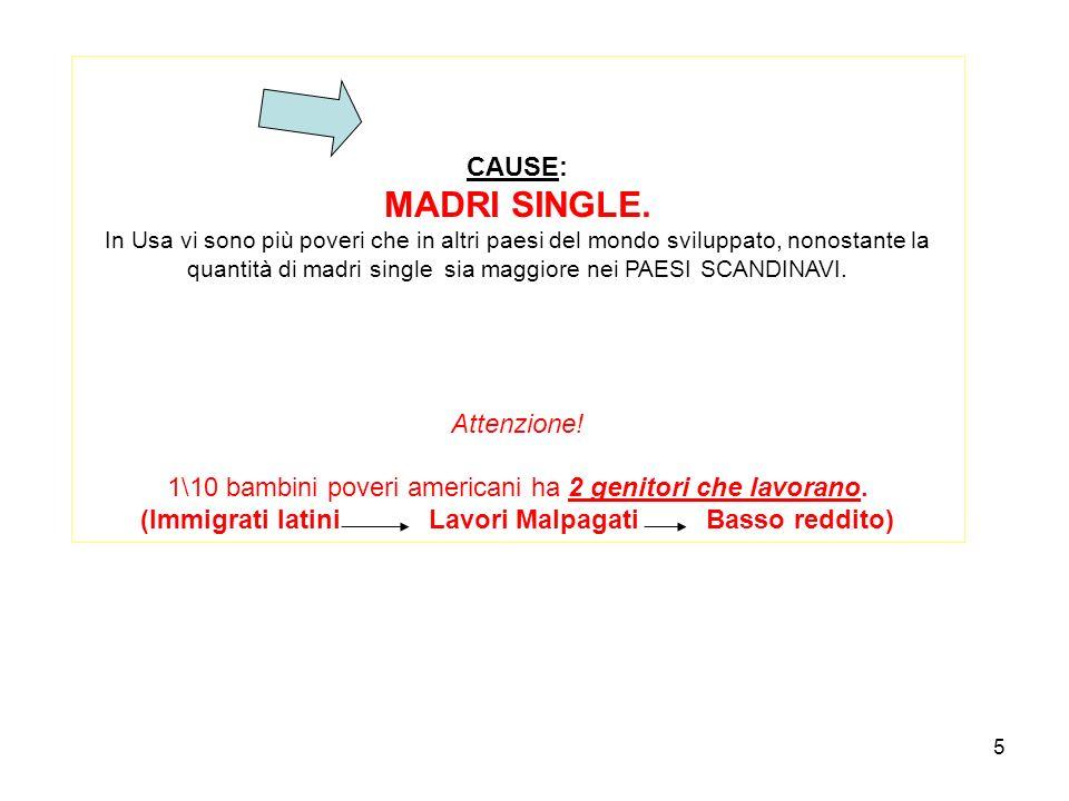 5 CAUSE: MADRI SINGLE.